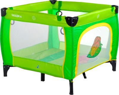 Игровой манеж Caretero Quadra (Green) - общий вид