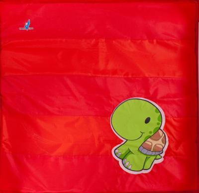 Игровой манеж Caretero Quadra (Red) - рисунок на матрасе