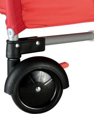 Кровать-манеж Caretero Medio Safari (Red) - колесо