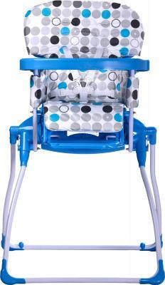 Стульчик для кормления Caretero Practico (Blue) - фронтальный вид