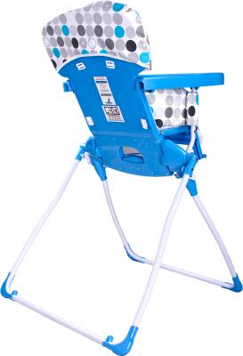 Стульчик для кормления Caretero Practico (Blue) - вид сзади