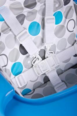 Стульчик для кормления Caretero Practico (Blue) - ремни безопасности