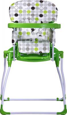 Стульчик для кормления Caretero Practico (Green) - фронтальный вид