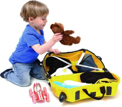 Детский чемодан Trunki Пчела (0044-GB01-P1) - в разложенном виде