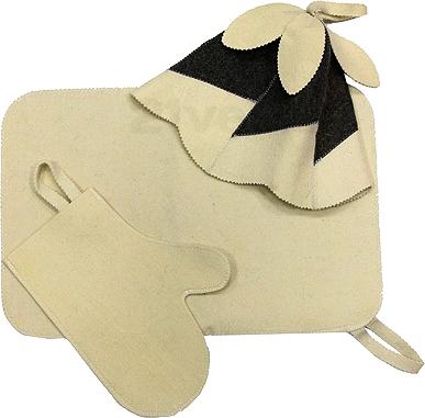 Набор текстиля для бани Банные Штучки 41095 - общий вид