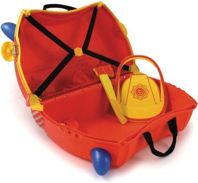 Детский чемодан Trunki Пожарник (0060-GB01-P1) - в разложенном виде