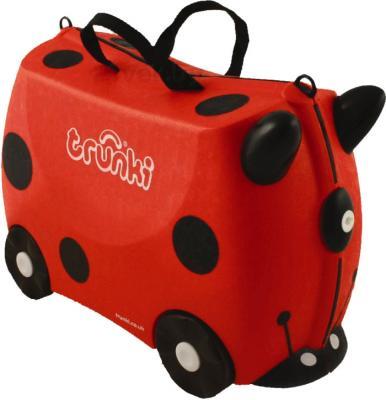 Детский чемодан Trunki Божья коровка (0092-GB01-P1) - общий вид