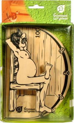 Термометр для бани Банные Штучки В здоровом теле-здоровый дух (18003) - в коробке