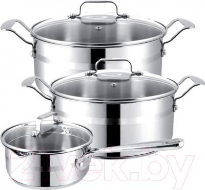 Набор кухонной посуды Tefal Jamie Oliver E874S574 - общий вид