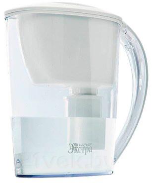 Фильтр питьевой воды БАРЬЕР Экстра (Белый) - общий вид