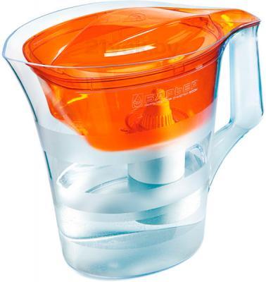 Фильтр питьевой воды БАРЬЕР Твист (оранжевый) - общий вид