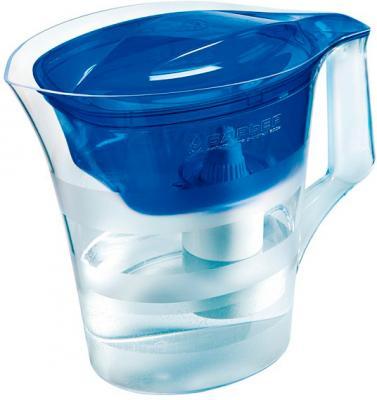Фильтр питьевой воды БАРЬЕР Твист (синий) - общий вид