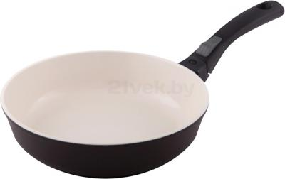 Сковорода Виктория АЛА 240 (С243Пк) (White-Brown) - общий вид