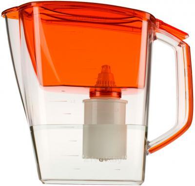 Фильтр питьевой воды БАРЬЕР Гранд (оранжевый + кассета Станадрт-4) - общий вид фильтра