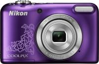 Фотоаппарат Nikon Coolpix L29 (Purple Patterned) - вид спереди