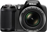 Фотоаппарат Nikon Coolpix L330 (Black) - вид спереди