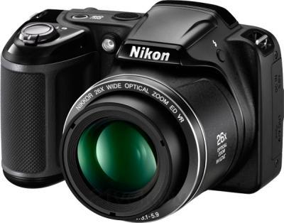 Компактный фотоаппарат Nikon Coolpix L330 (Black) - общий вид