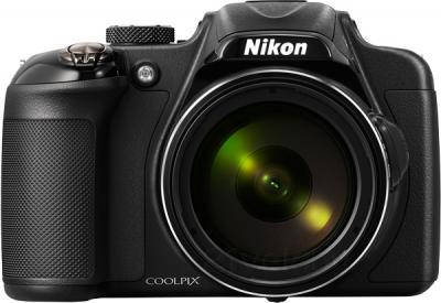 Компактный фотоаппарат Nikon Coolpix P600 (Black) - вид спереди