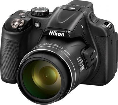 Компактный фотоаппарат Nikon Coolpix P600 (Black) - общий вид