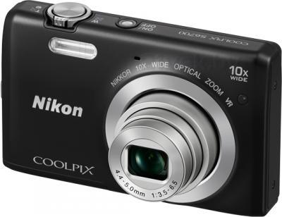 Компактный фотоаппарат Nikon Coolpix S6700 (Black) - общий вид