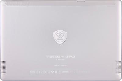 Планшет Prestigio MultiPad Visconte Pro 64GB 3G (PMP810F3GWHPRO) - вид сзади