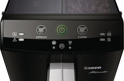Кофеварка эспрессо Saeco Minuto Pure (HD8760/09) - панель управления