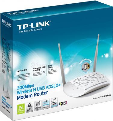 Беспроводной маршрутизатор TP-Link TD-W8968 - упаковка