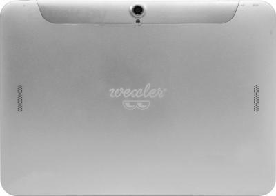 Планшет Wexler 10Q (16GB, 3G, серебристый) - вид сзади