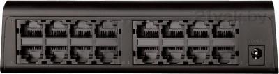 Коммутатор D-Link DES-1016A/E1A - вид сзади