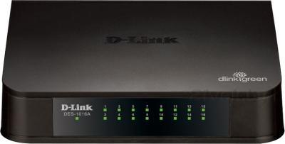 Коммутатор D-Link DES-1016A/E1A - общий вид