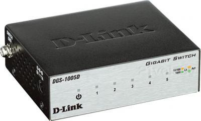 Коммутатор D-Link DGS-1005D/H2A - общий вид