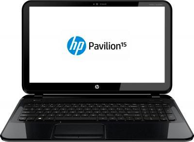 Ноутбук HP 15-d076e (F9V22EA) - фронтальный вид