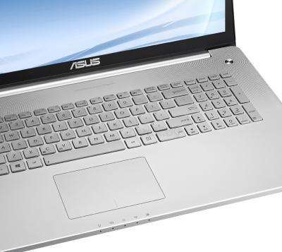 Ноутбук Asus N750JK-T4011D - клавиатура