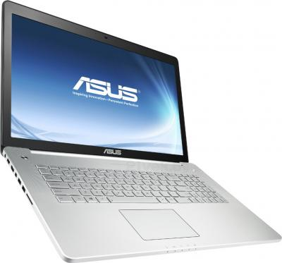 Ноутбук Asus N750JK-T4100D - общий вид