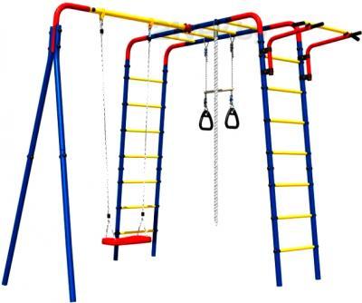 Игровой комплекс Romana Веселая лужайка-01 (СК-3.3.19.02-01) - общий вид