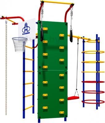 Игровой комплекс Romana Скалодром-15 (СК-3.3.15.21-01) - общий вид