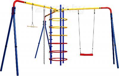 Игровой комплекс Карусель Циркус (СК-3.3.15.23) - вид сбоку