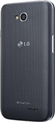 Смартфон LG L70 / D325 (черный) - задняя панель