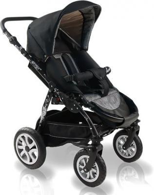 Детская универсальная коляска Bexa Fashion Roxy White (201) - прогулочная (цвет 210 черная рама)