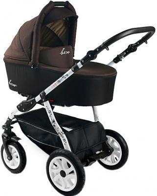 Детская универсальная коляска Bexa Fashion Roxy White (205) - общий вид