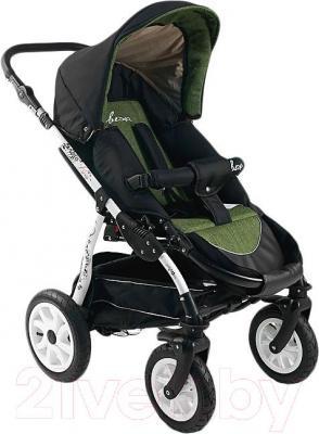 Детская универсальная коляска Bexa Fashion Roxy White (206) - прогулочный блок