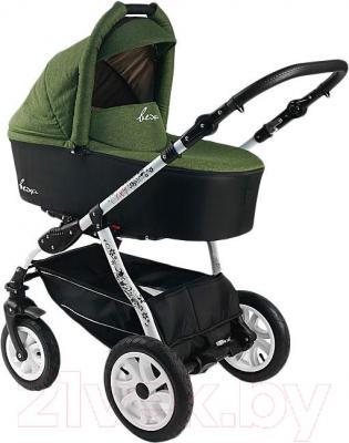 Детская универсальная коляска Bexa Fashion Roxy White (206) - люлька