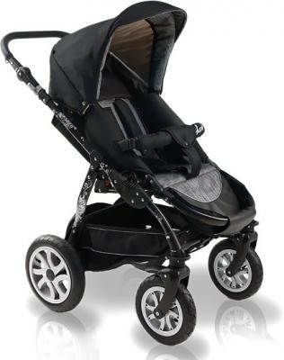 Детская универсальная коляска Bexa Fashion Roxy White (208) - прогулочная (цвет 210 черная рама)