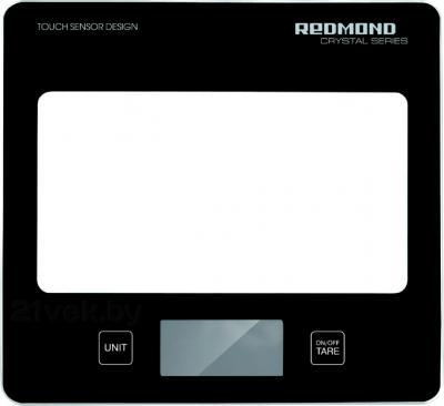 Кухонные весы Redmond RS-724 (черный) - общий вид