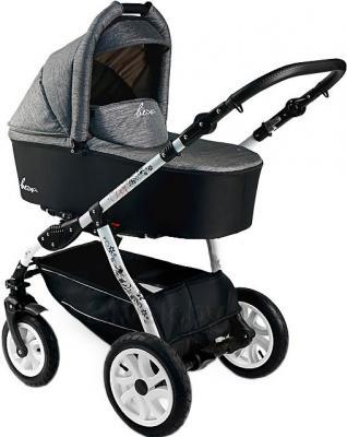 Детская универсальная коляска Bexa Fashion Roxy White (210) - общий вид