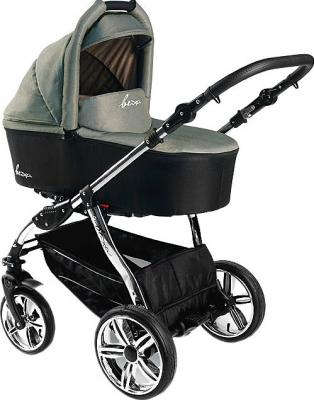 Детская универсальная коляска Bexa Fashion Roxy Chrome (208) - общий вид