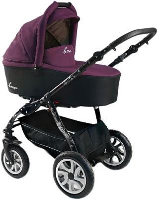 Детская универсальная коляска Bexa Fashion Roxy Black (204) - общий вид