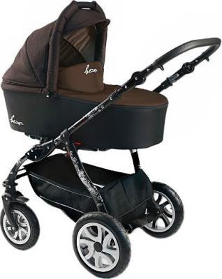 Детская универсальная коляска Bexa Fashion Roxy Black (205) - общий вид