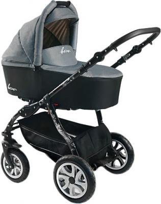 Детская универсальная коляска Bexa Fashion Roxy Black (208) - общий вид