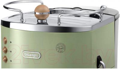 Кофеварка эспрессо DeLonghi ECOV 310.GR - подставка для подогрева чашек